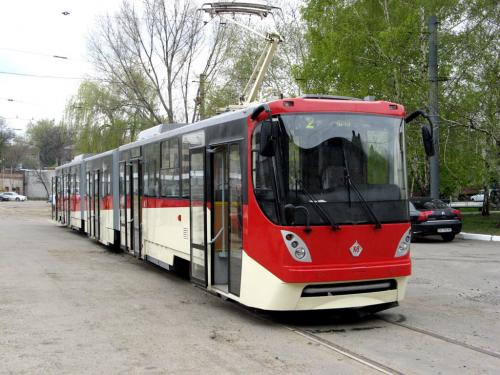 Одесская компания собрала для Киева первый трамвай