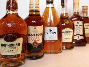 В украинских коньяках повысят объемы украинского спирта