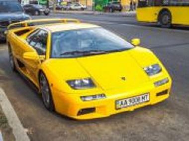 По киевским дорогам катается единственная в мире Lamborghini