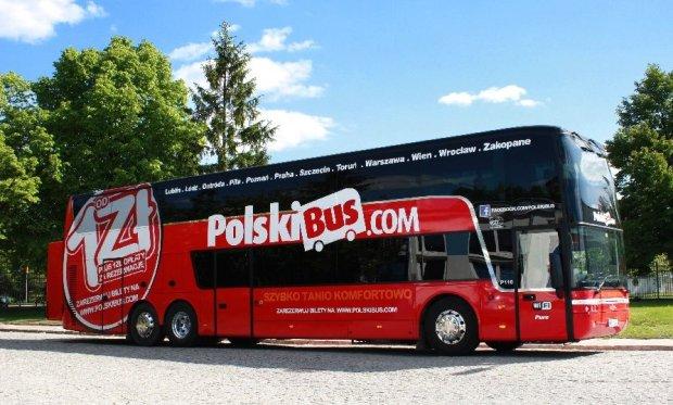 Польский перевозчик PolskiBus приходит на украинский рынок