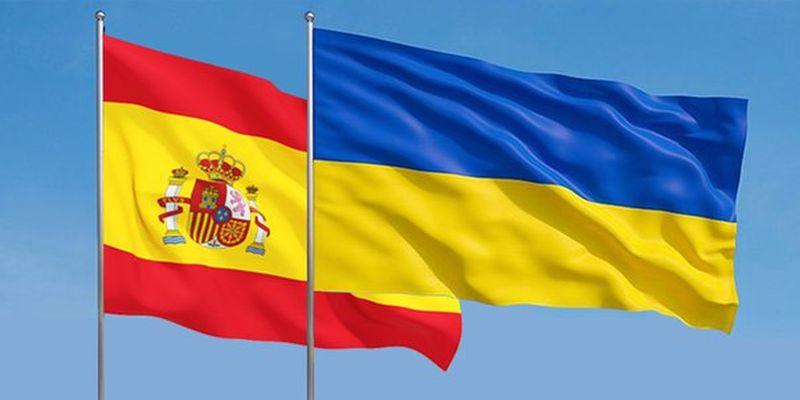 Украина-Испания