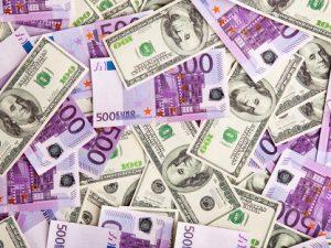 доллары-евро