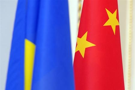 Украина Китай