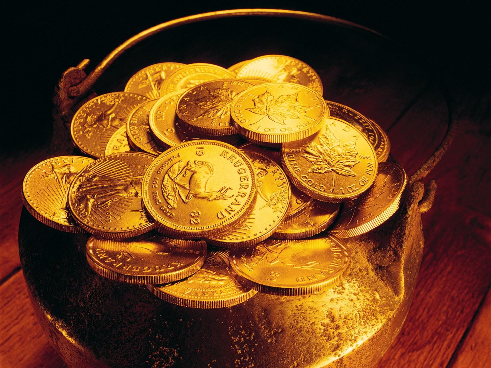 золотые монеты фото и картинки
